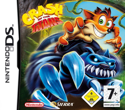 Crash of the Titans DS coverM (AQJP)