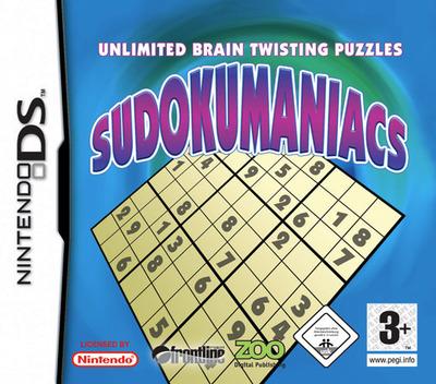 Sudokumaniacs DS coverM (AQMP)
