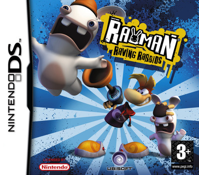 Rayman - Raving Rabbids DS coverM (AR5P)