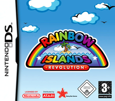 Rainbow Islands Revolution DS coverM (ARIP)