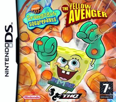 SpongeBob SquarePants - The Yellow Avenger DS coverM (AS9P)
