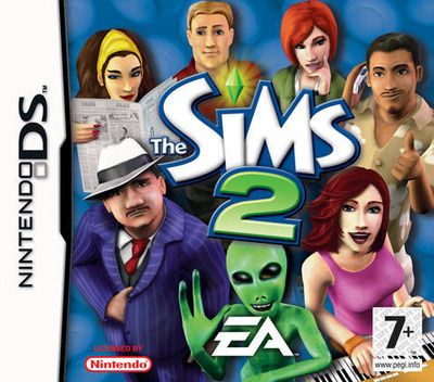 The Sims 2 DS coverM (ASJP)