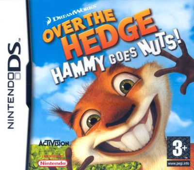 Over the Hedge - Hammy Goes Nuts! DS coverM (AVHP)