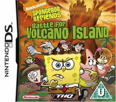 SpongeBob and Friends - Battle for Volcano Island DS coverM (AVKP)