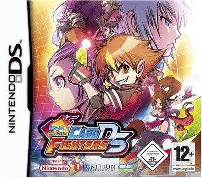 SNK vs. Capcom - Card Fighters DS DS coverM (AVSP)