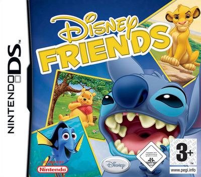Disney Friends DS coverM (AXVD)