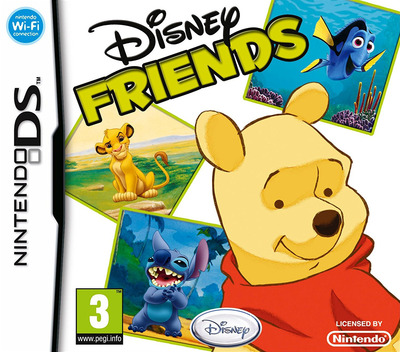 Disney Friends DS coverM (AXVP)