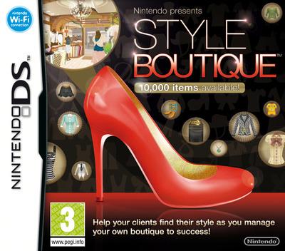Nintendo Presents - Style Boutique DS coverM (AZLP)