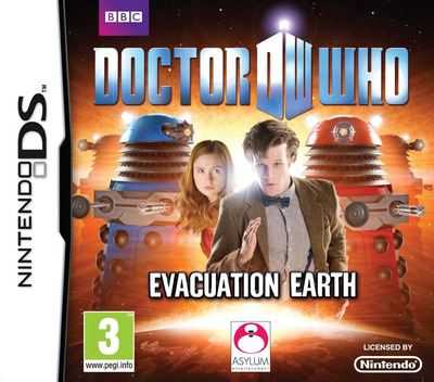 Doctor Who - Evacuation Earth DS coverM (B2DP)
