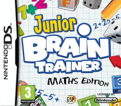 Junior Brain Trainer - Maths Edition DS coverM (B2EP)