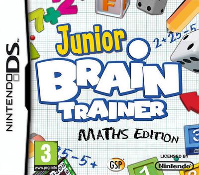 Junior Brain Trainer DS coverM (B2EX)