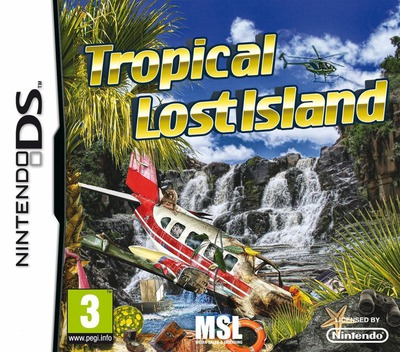 Tropical Lost Island DS coverM (B2LP)