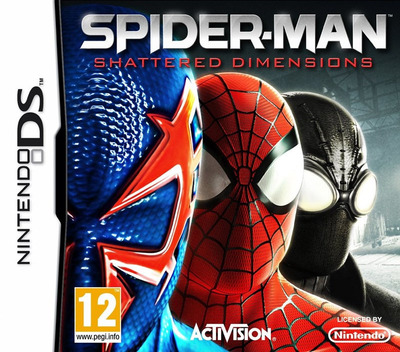Spider-Man - Shattered Dimensions DS coverM (B3PP)