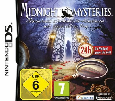 Midnight Mysteries - Gaensehaut Wimmelbild-Abenteuer mit Edgar Allan Poe DS coverM (B4MD)