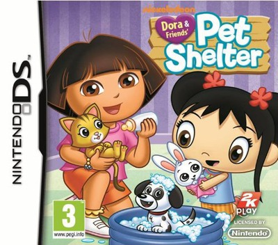 Dora & Friends' - Pet Shelter DS coverM (B58P)