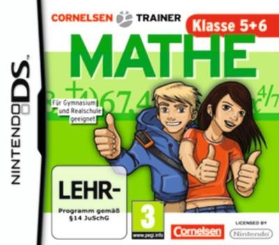 Cornelsen Trainer - Mathe - Klasse 5 + 6 DS coverM (B5XP)