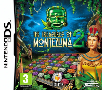 The Treasures of Montezuma 2 DS coverM (B6NP)