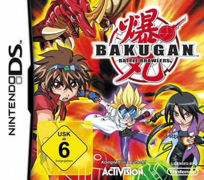 Bakugan - Battle Brawlers DS coverM (B6RP)