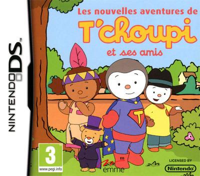Les Nouvelles Aventures de T'choupi et Ses Amis DS coverM (B78F)