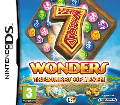 7 Wonders - Treasures of Seven DS coverM (B7VF)
