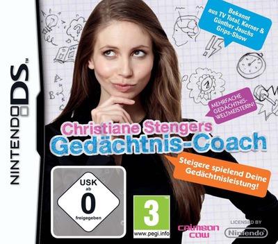 Christiane Stengers Gedaechtnis-Coach DS coverM (B85D)