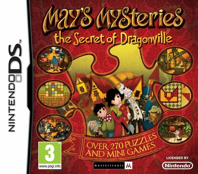 May's Mysteries - The Secret of Dragonville DS coverM (B8HX)