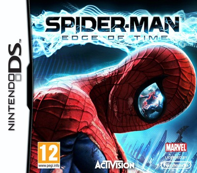 Spider-Man - Edge of Time DS coverM (B8IP)