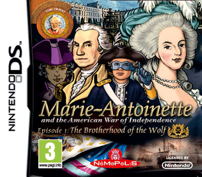 Marie-Antoinette and the American War of Independence - Episode 1 - The Brotherhood of the Wolf DS coverM (BA5P)
