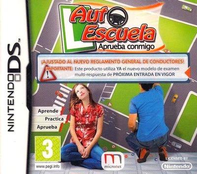 Auto Escuela - Aprueba Conmigo DS coverM (BAQS)
