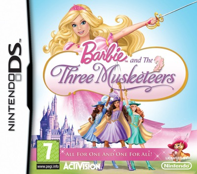 Barbie and the Three Musketeers DS coverM (BB3P)