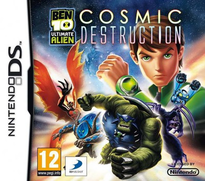 Ben 10 - Ultimate Alien - Cosmic Destruction DS coverM (BB9P)