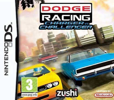 Dodge Racing - Charger vs Challenger DS coverM (BDDP)