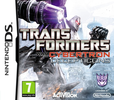 Transformers - War for Cybertron - Decepticons DS coverM (BDIP)