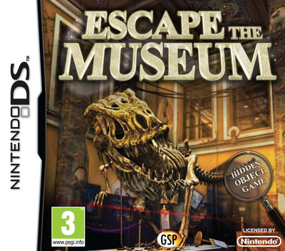 Escape the Museum DS coverM (BE3X)