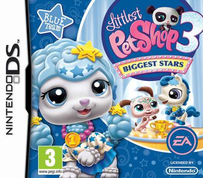 Littlest Pet Shop 3 - Biggest Stars - Blue Team DS coverM (BE7P)