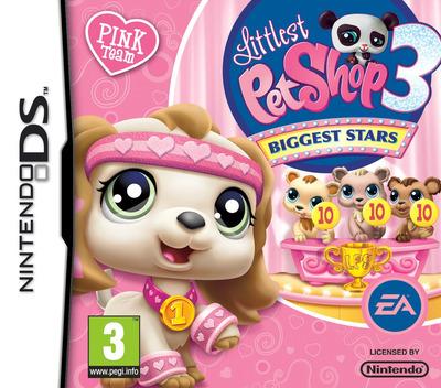 Littlest Pet Shop 3 - Biggest Stars - Pink Team DS coverM (BE9P)