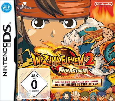 Inazuma Eleven 2 - Feuersturm DS coverM (BEED)