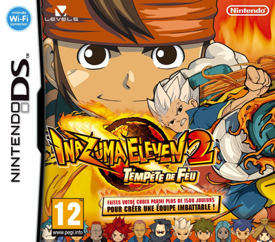 Inazuma Eleven 2 - Tempete de Feu DS coverM (BEEF)