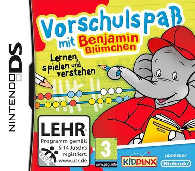 Vorschulspass mit Benjamin Blümchen DS coverM (BEJD)