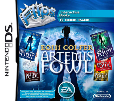 Flips 6 Book Pack - Eoin Colfer - Artemis Fowl DS coverM (BF6P)