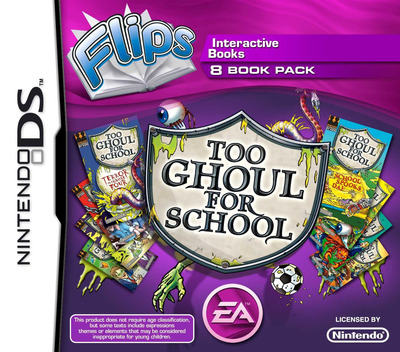 Flips 8 Book Pack - Too Ghoul for School DS coverM (BF9P)