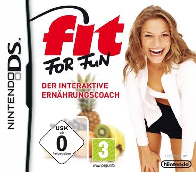 Fit for Fun - Der Interaktive Ernaehrungscoach DS coverM (BFOD)