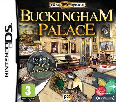 Hidden Mysteries - Buckingham Palace DS coverM (BHYP)