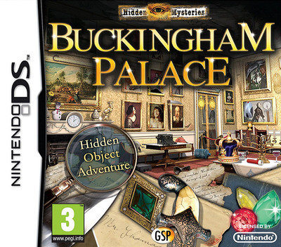 Hidden Mysteries - Buckingham Palace DS coverM (BHYX)