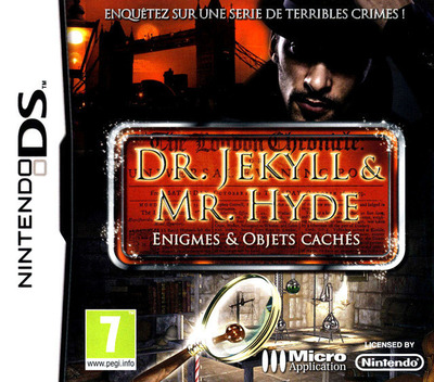 Dr. Jekyll & Mr. Hyde - Enigmes & Objets Caches DS coverM (BJHF)