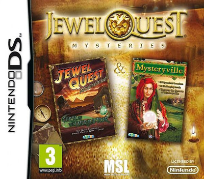 Jewel Quest - Mysteries DS coverM (BJYX)