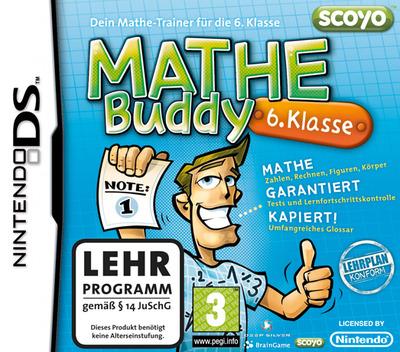 Mathe Buddy - 6. Klasse DS coverM (BKDX)