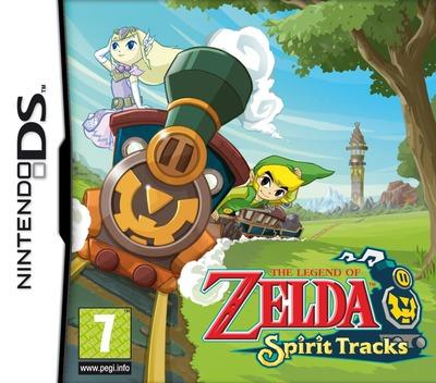 The Legend of Zelda - Spirit Tracks DS coverM (BKIP)