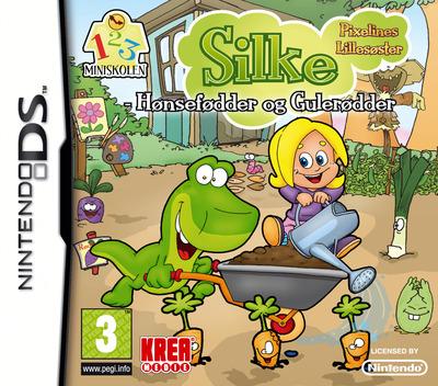 Silke - Pixelines Lillesøster - Hønsefødder og Gulerødder DS coverM (BLXQ)