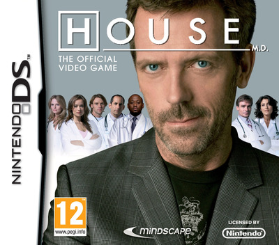 House M.D. - The Official Game DS coverM (BMHP)
